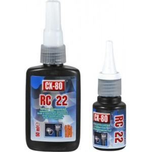 RC22 - Niskowytrzymałe zabezpieczenie gwintów 10ml